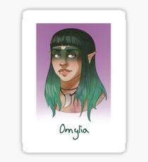 Omylia Sticker