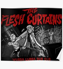 The Flesh Curtains Poster