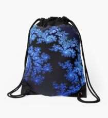 Blue Oasis Drawstring Bag