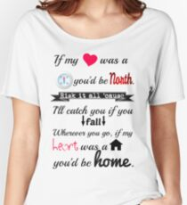 If my Heart was a House Women's Relaxed Fit T-Shirt
