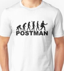 Evolution postman T-Shirt