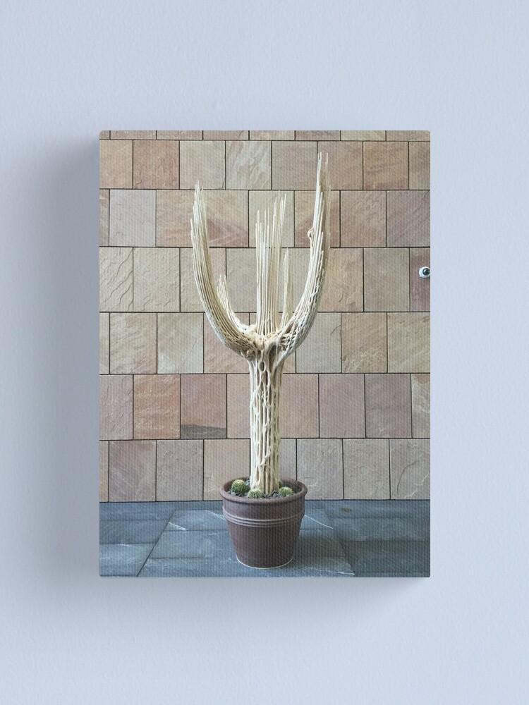 Alternate view of 2016 Cactus Skelleton Canvas Print
