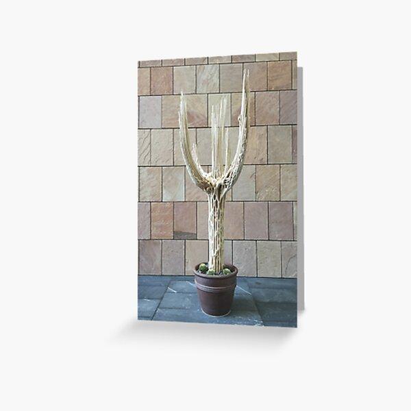 2016 Cactus Skelleton Greeting Card