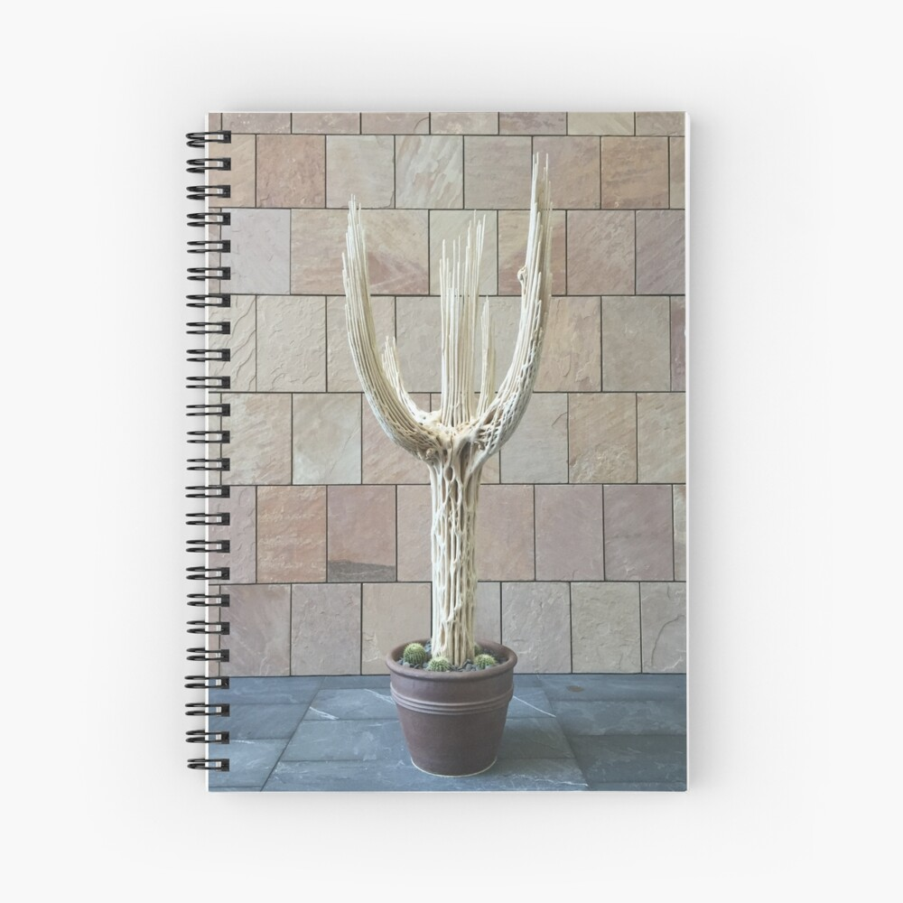 2016 Cactus Skelleton Spiral Notebook