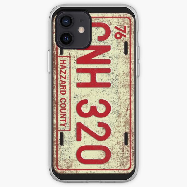 Dukes of Hazzard - General Lee License Plate iPhone Soft Case