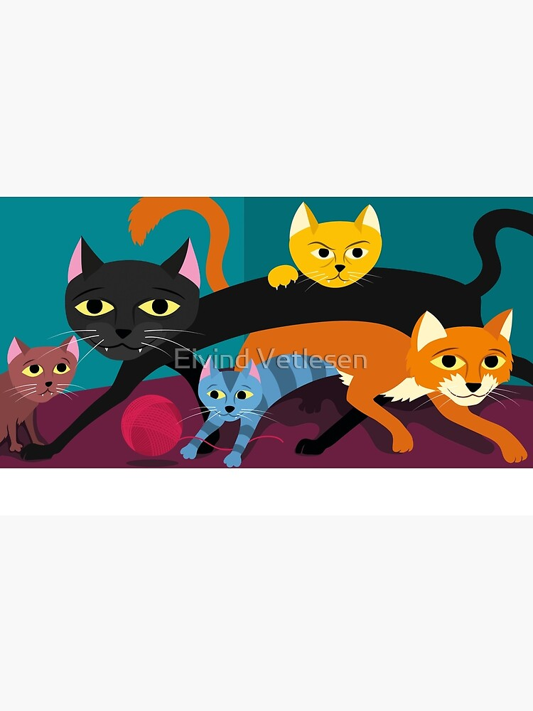 Cats & Kittens by eivindvetlesen