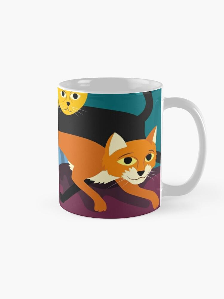 Alternate view of Cats & Kittens Mug