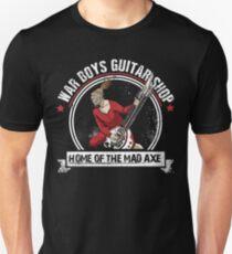 War Boys Guitar Shop Unisex T-Shirt