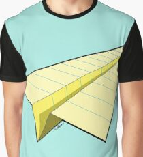 Paper Airplane 10 Graphic T-Shirt