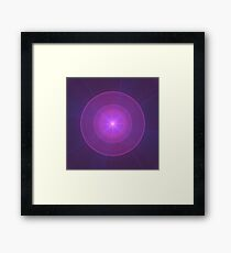 Mew's Energy | Original Fractal Art Framed Print