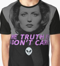 The Truth is I Don't Care Graphic T-Shirt