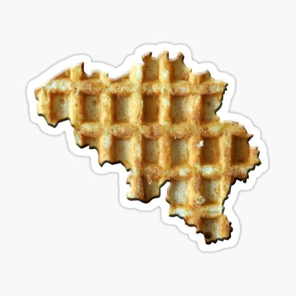 Belgium wafelland Sticker