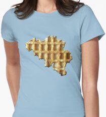 Belgium wafelland Womens Fitted T-Shirt