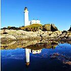 Donald Trump Turnberry Lighthouse Scotland UK by FollowingTLites