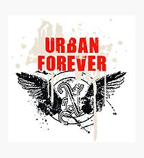 Urban Forever Photographic Print