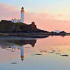 Donald Trump Turnberry Lighthouse Ayrshire Scotland UK by FollowingTLites