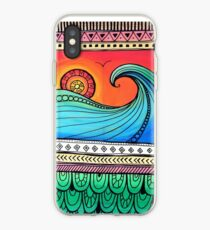 Sayulita Sunrise Surf Sessions iPhone Case