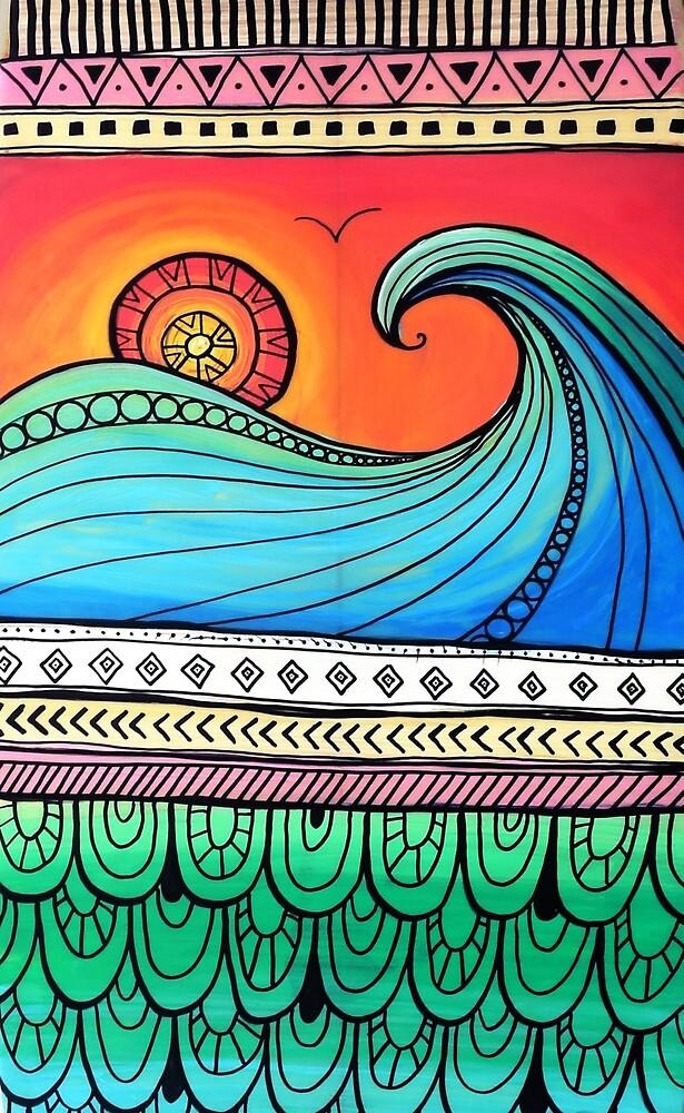 Sayulita Sunrise Surf Sessions by Maia Walczak