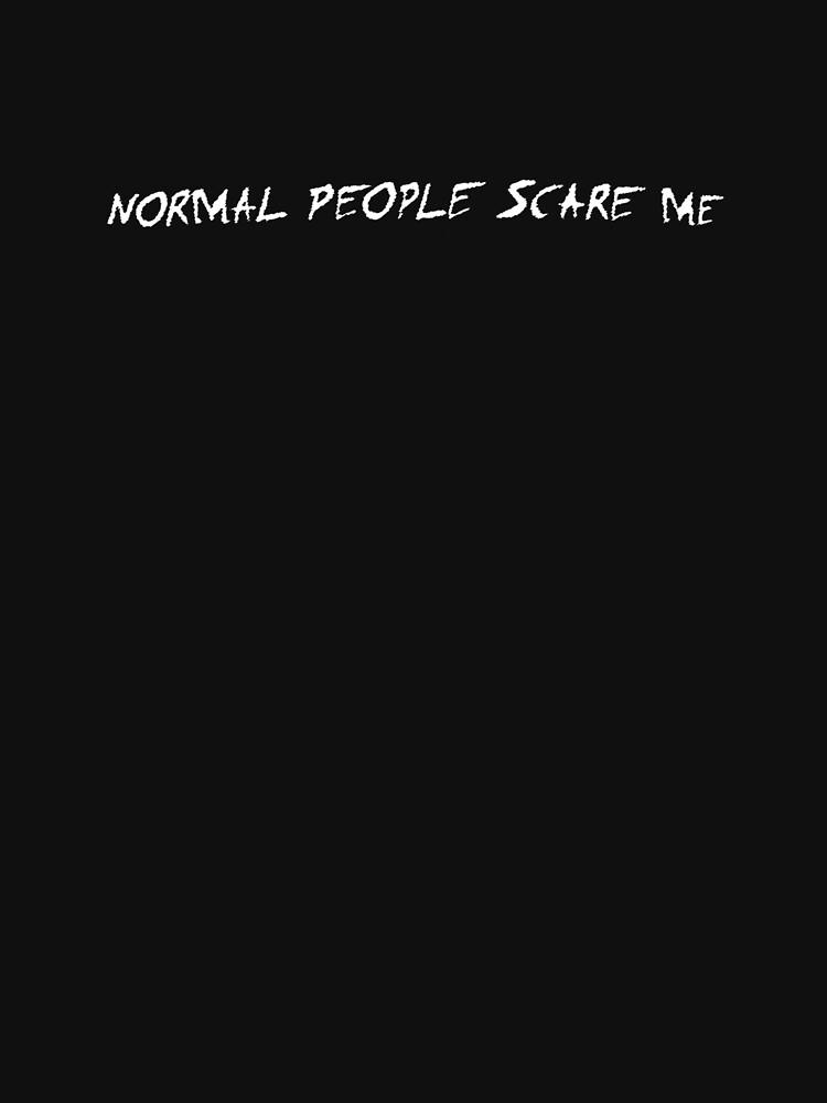 Tate Langdon EXACT Normal People Scare Me shirt | Classic T-Shirt