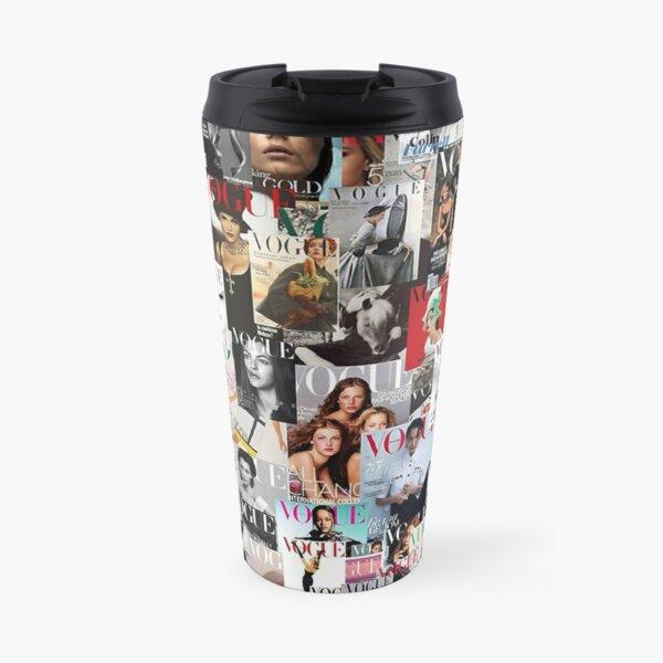 Vogue magazine collage Travel Mug