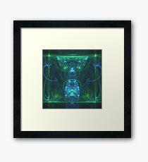 Dress of Fertility | Original Fractal Art Framed Print