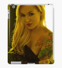 Portrait of a Blond  iPad Case/Skin