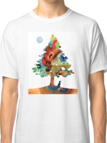 Dog Art - Contemplation 2 - By Sharon Cummings  Classic T-Shirt