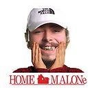 POST MALONE - HOME MALONE by CircleZone