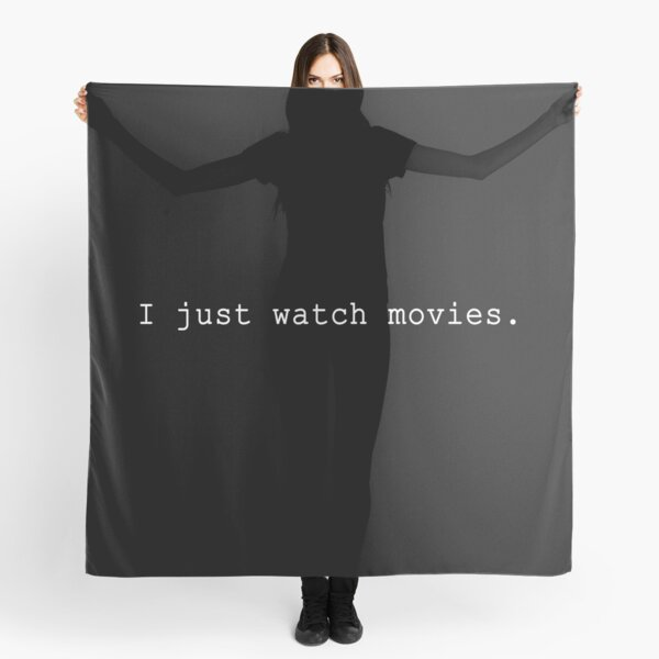I Just Watch Movies Scarf