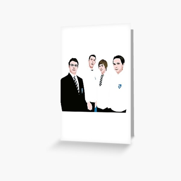 Bumder Merry Christmas Card funny greeting card Will Mckenzie The Inbetweeners