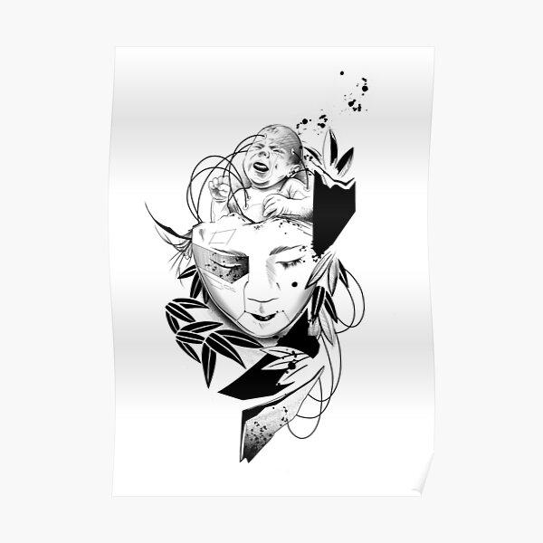 Android Geisha III Poster