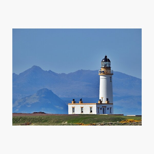 Donald Trump Turnberry Lighthouse Ayrshire Scotland Photographic Print