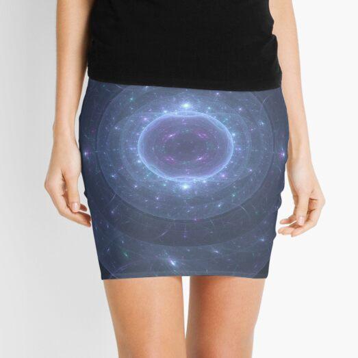 Electric Membrane 2 | Original Fractal Art  Mini Skirt