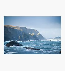 Cliffs at Port, Glencolmcille Photographic Print
