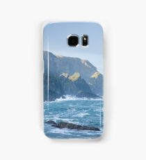 Cliffs at Port, Glencolmcille Samsung Galaxy Case/Skin