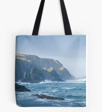 Cliffs at Port, Glencolmcille Tote Bag