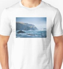 Cliffs at Port, Glencolmcille Unisex T-Shirt