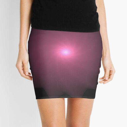 Cubic Spiral | Fractal Art Mini Skirt