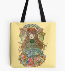 Psychedelic Mother Nature Tote Bag