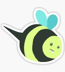Bucktooth Bee Sticker