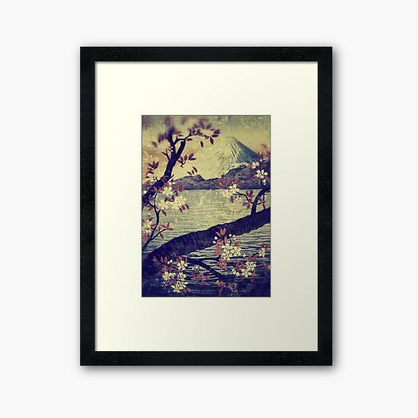 Templing at Hanuii Framed Art Print