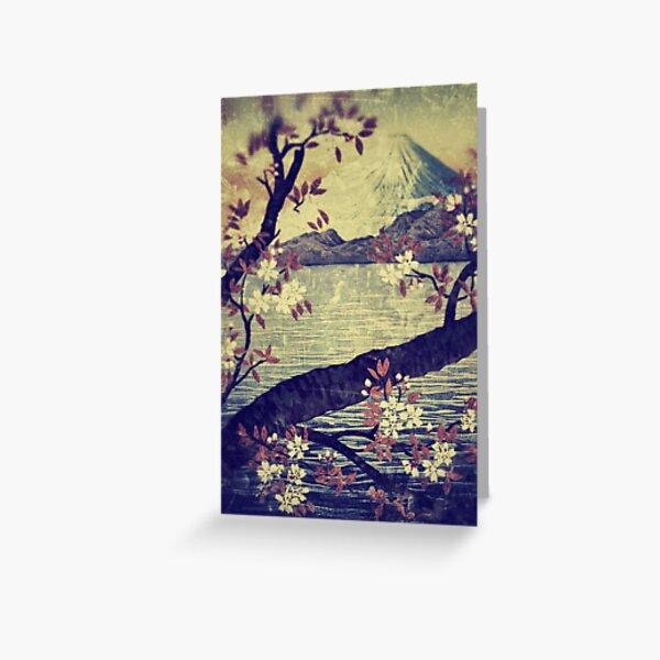Templing at Hanuii Greeting Card