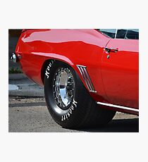 1969 Chevrolet Camaro  Photographic Print