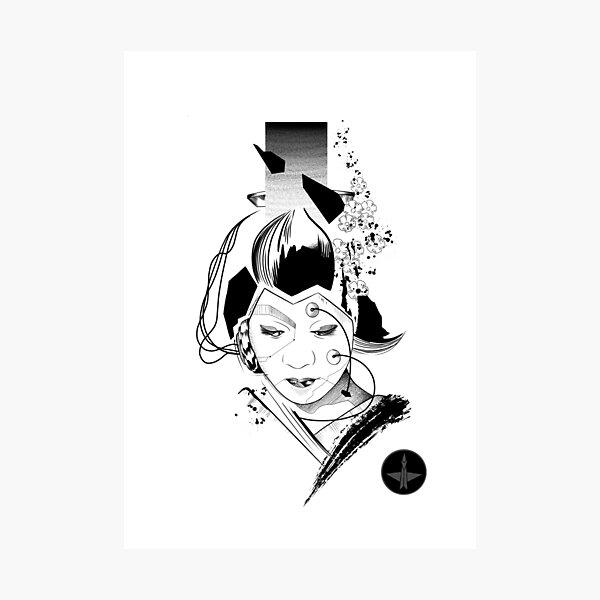 Android Geisha II Photographic Print