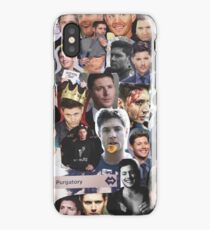 Jensen Ackles Collage iPhone Case