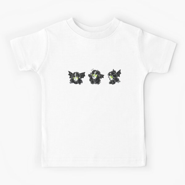 EVE JOHN Ghibi Tee Summer Tshirts for Toddler Black