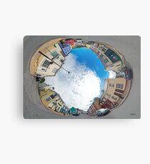 Kilcar Crossroads - Sky in Metal Print