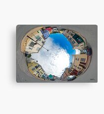 Kilcar Crossroads - Sky in Canvas Print
