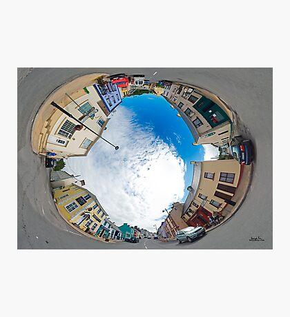 Kilcar Crossroads - Sky in Photographic Print