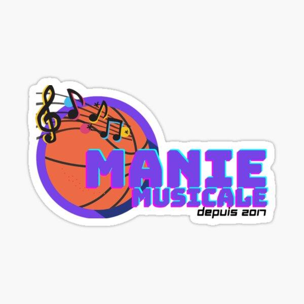 Manie Musicale Carbonneau/Fournier Sticker